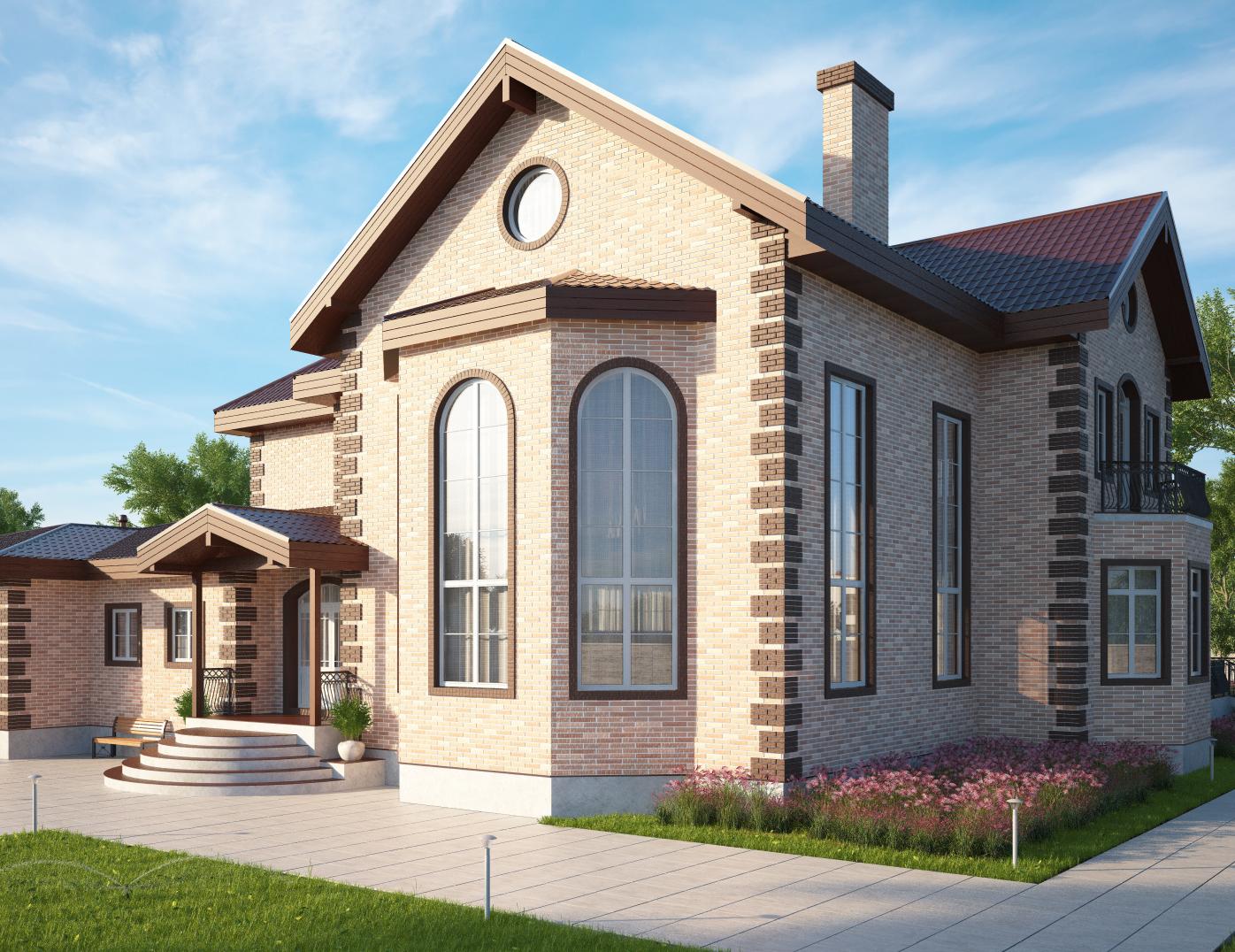 сегодня, предлагаем фото построенных домов с проектами для